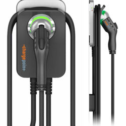 ChargePoint Home allows drivers to charge up to 25 miles per hour and easily manage the charger from their smartphones.