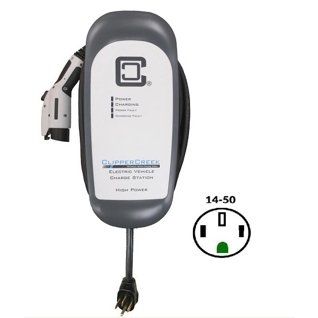 32a Clippercreek Hcs 40p With Nema 14 50 Plug Metro In Your Ev Charging Solution