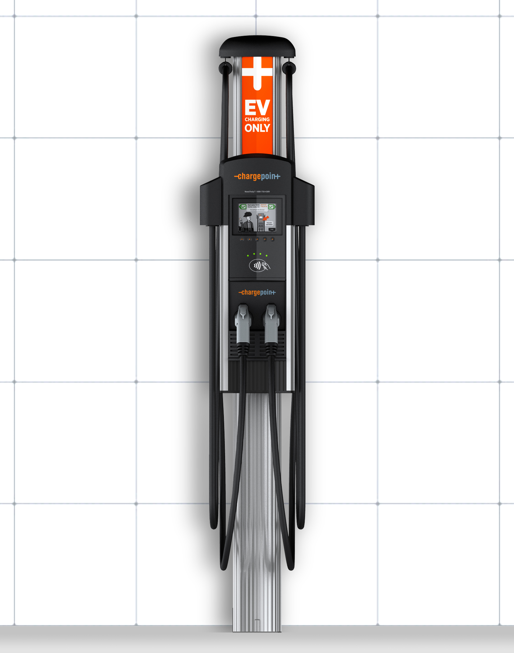 Chargepoint Dual Wall Mount Metro Plug In Your Ev